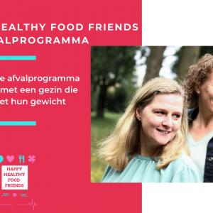 HET HAPPY HEALTHY FOOD FRIENDS AFVALPROGRAMMA