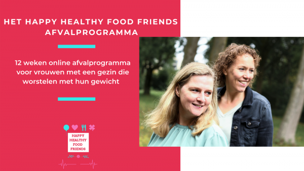 HET HAPPY HEALTHY FOOD FRIENDS AFVALPROGRAMMA