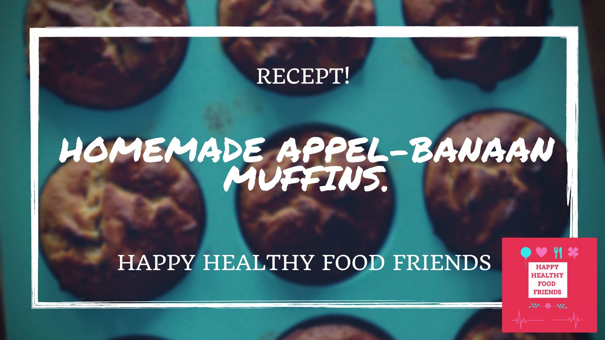 Appel-banaan muffin