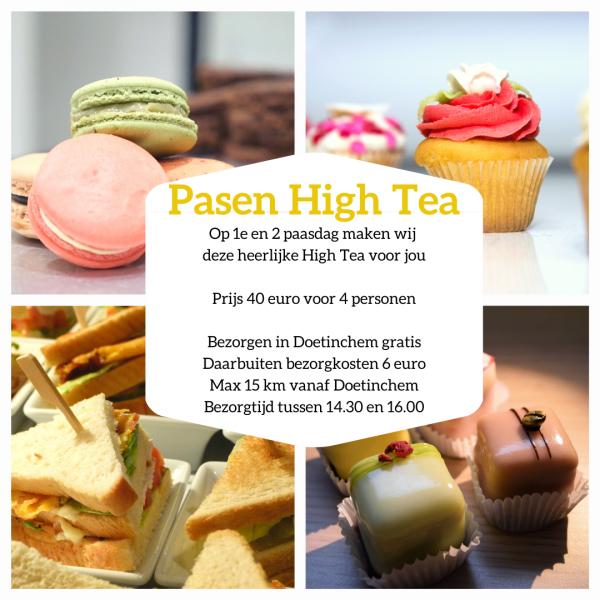 Pasen High Tea